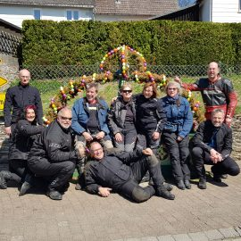 2019 Ostertour nach  Braubach
